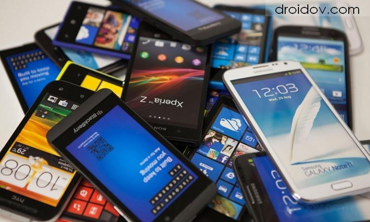 Pile-of-smart-phones
