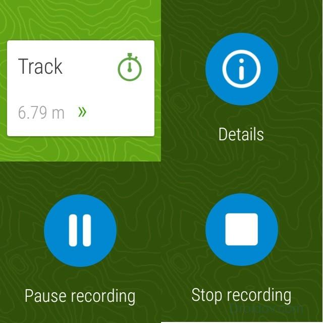 Viewranger-gps-screenshots