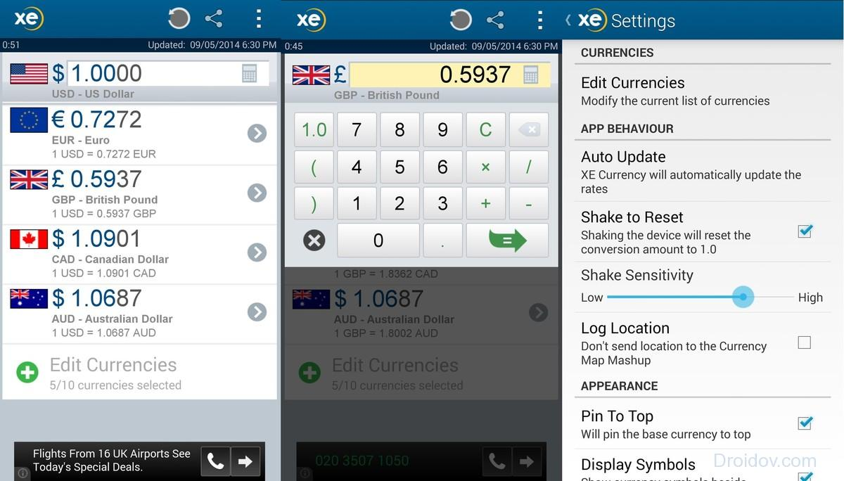 xe_currency_android_screens