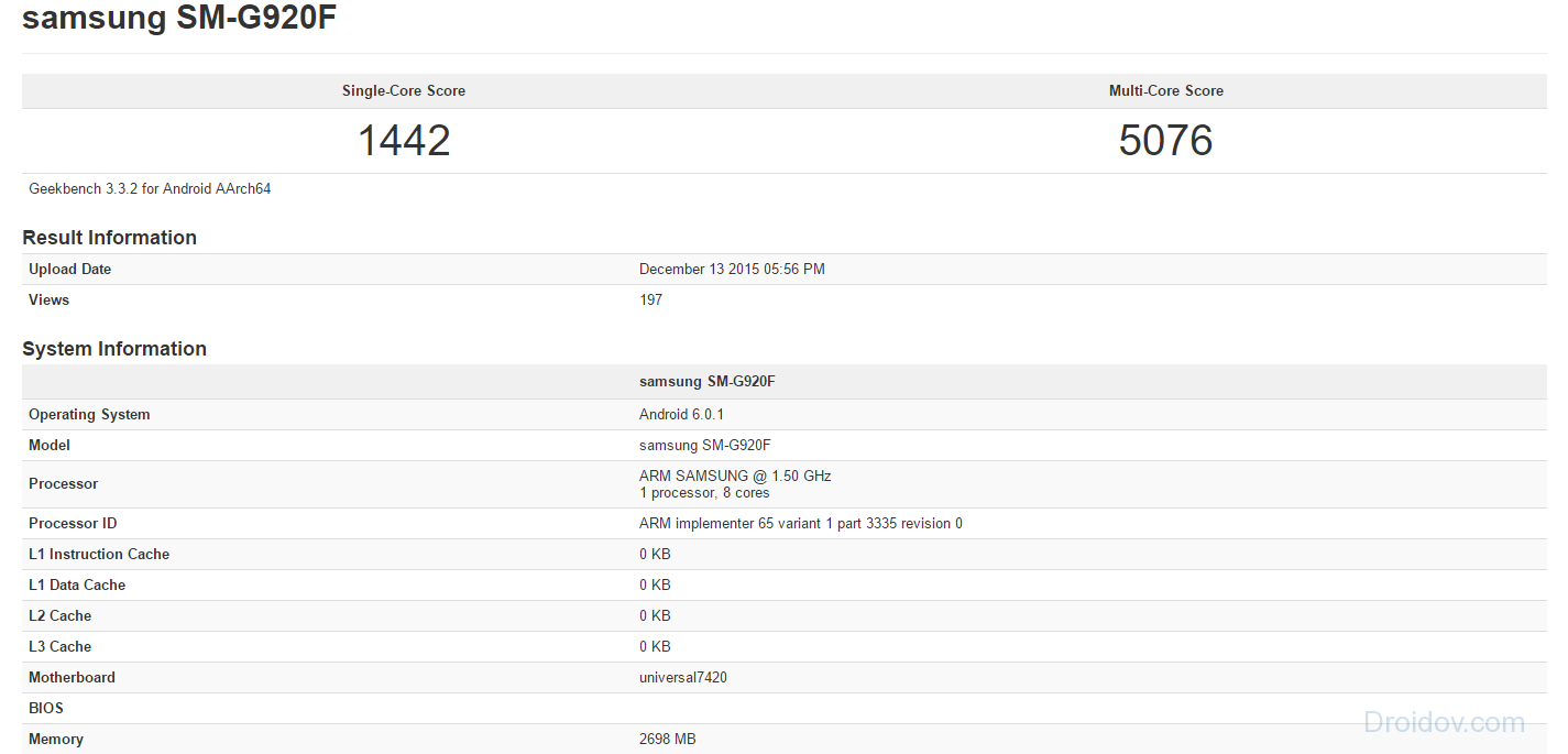 Android-6.0.1-S6-bei-Geekbench