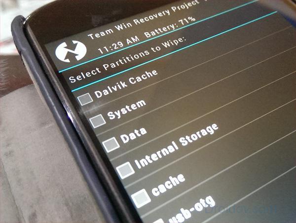 Установка CyanogenMod 13