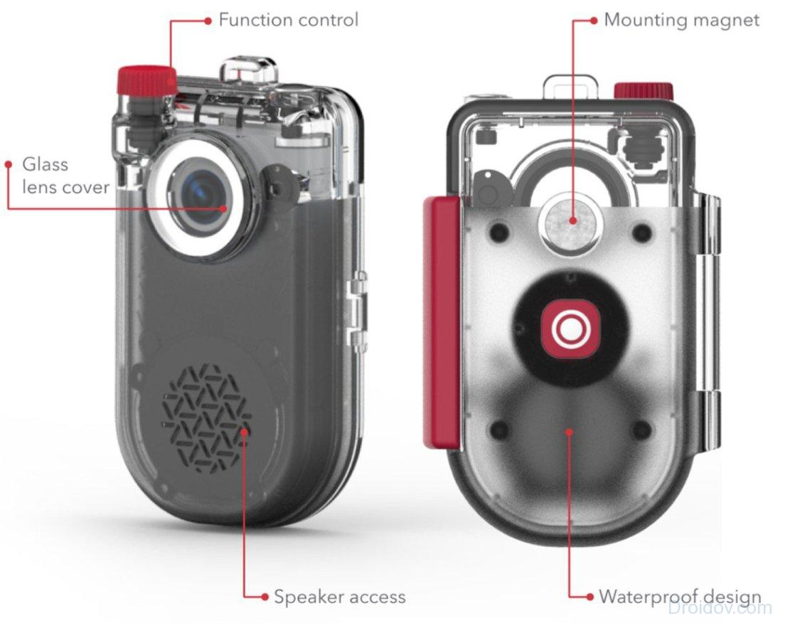 Zagg NOW CAM: социальная камера со встроенным динамиком