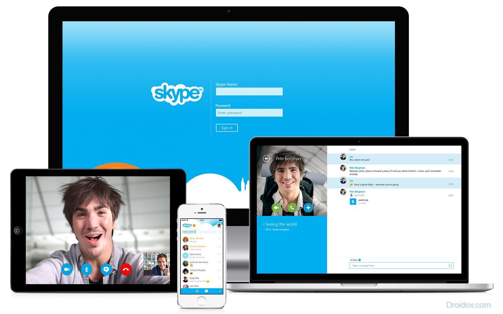 Как в скайпе сделать групповой видеозвонок