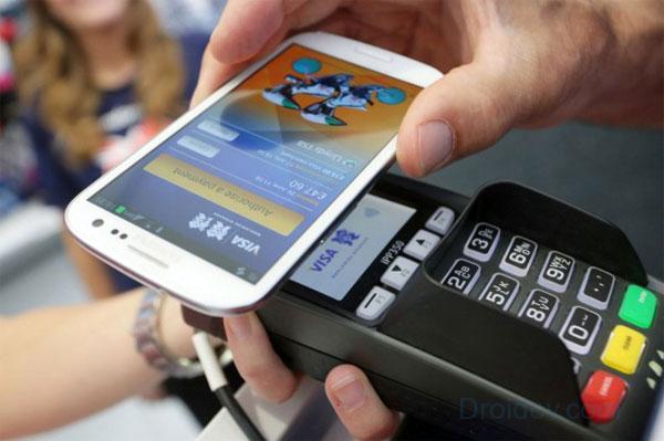 Покупка в супермаркете с помощью NFC