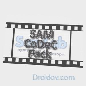 Программа Sam Codec Pack