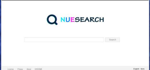 Липовая страница браузера Nuesearch.com
