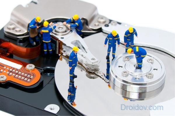 Как отформатировать диск с через биос