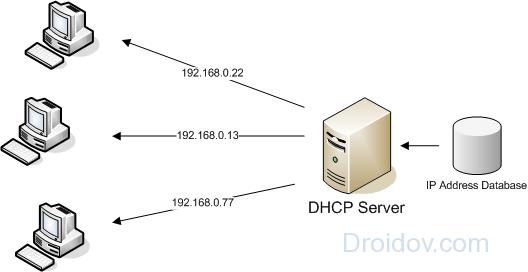 DHCP сервер
