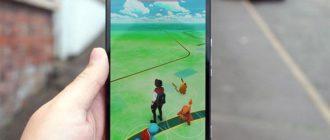 Версия игры Pokemon go для смартфонов Windows Phone