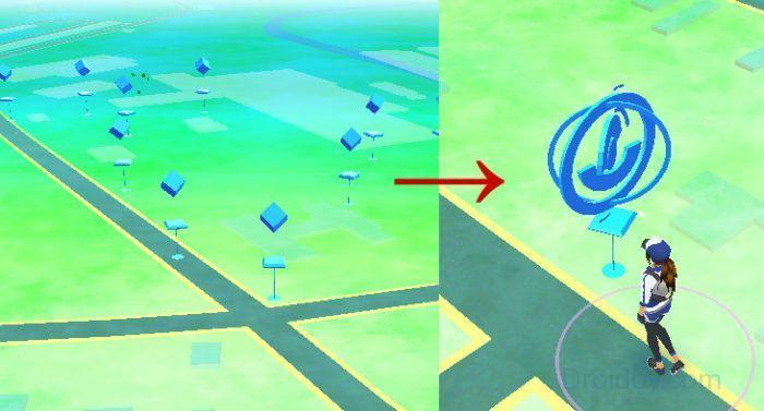 Иллюстрация покестопа в игре Покемон го