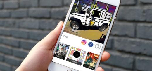 Фотоприложение Prisma на Андроид