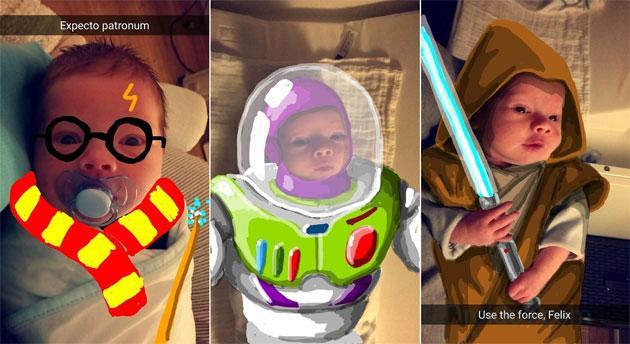Фильтры в Snapchat