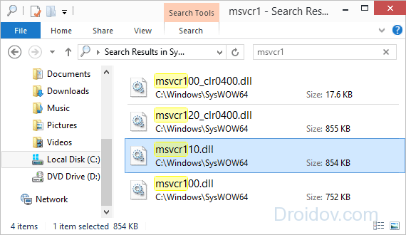 Mfc110u.dll скачать для Windows 7 - фото 3