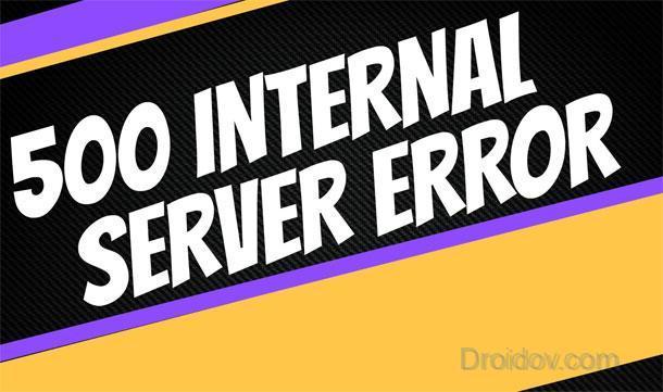 Что это 500 Internal Server Error