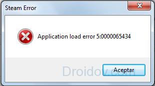 Скриншот ошибки