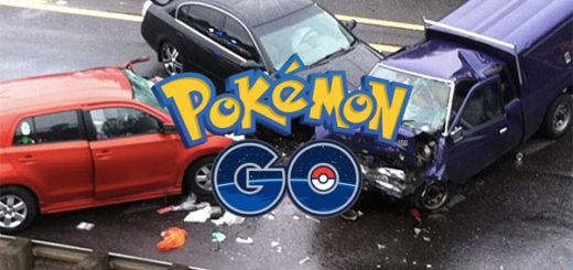 Аварии за рулём из-за Pokemon go