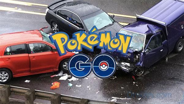 Аварии в России из-за Pokemon go