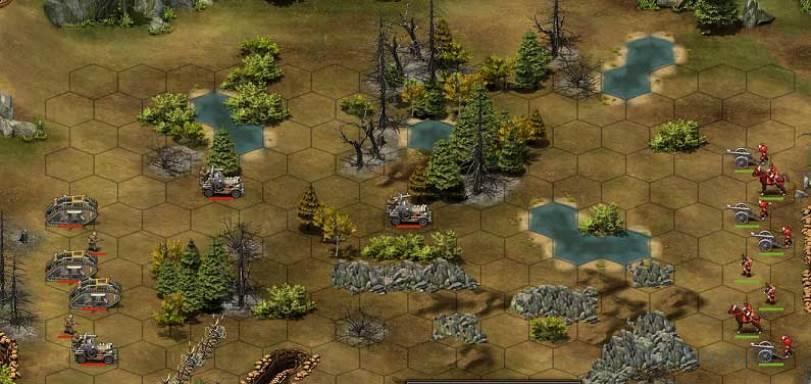 карта боя