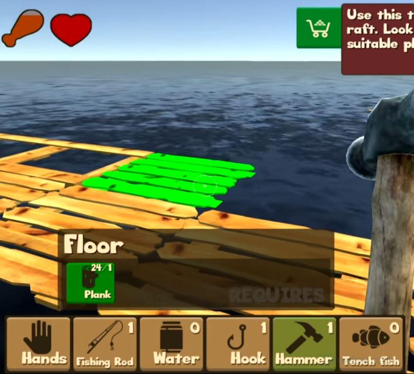 Raft Survival и Raft Survival Game Simulator