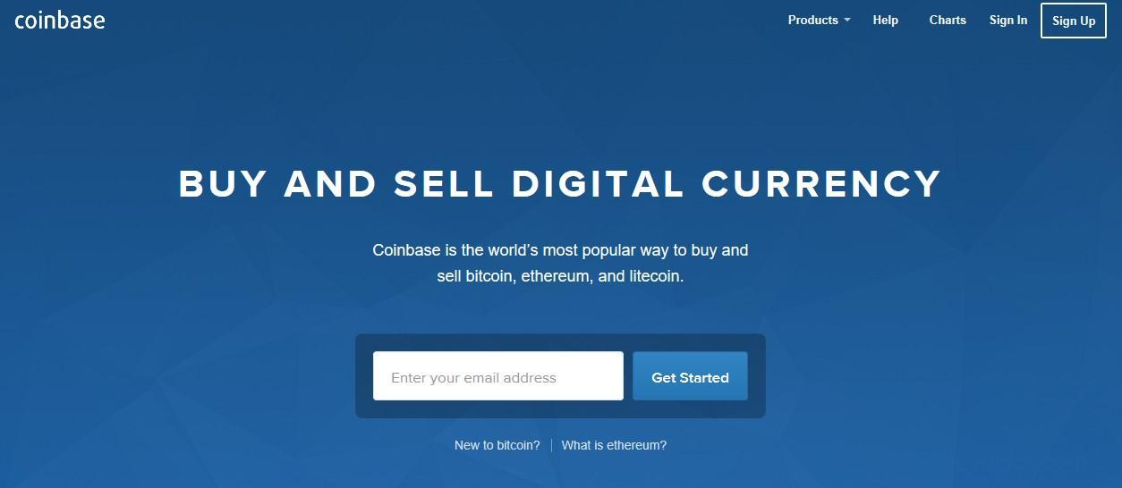 Онлайн-сервис кошелек Coinbase