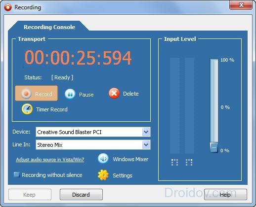 Программа Power Sound Editor Free