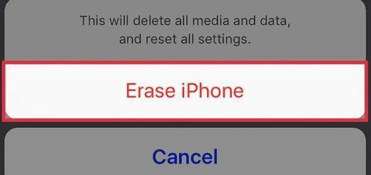 Как сбросить iPhone
