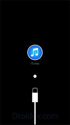 Сброс iPhone через Recovery mode