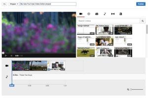Как склеить видео в Youtube