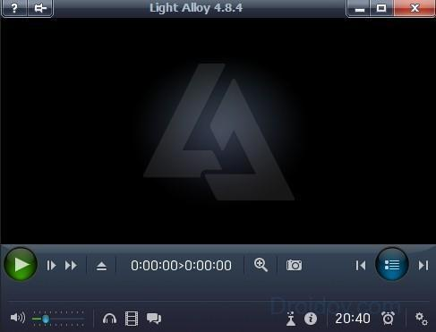 Плеер Light Alloy