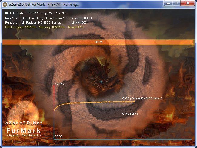 FurMark тестировщик работоспособности видеокарт