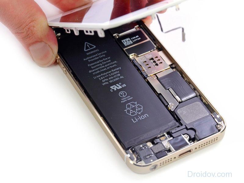 Смена аккумулятора в Айфоне