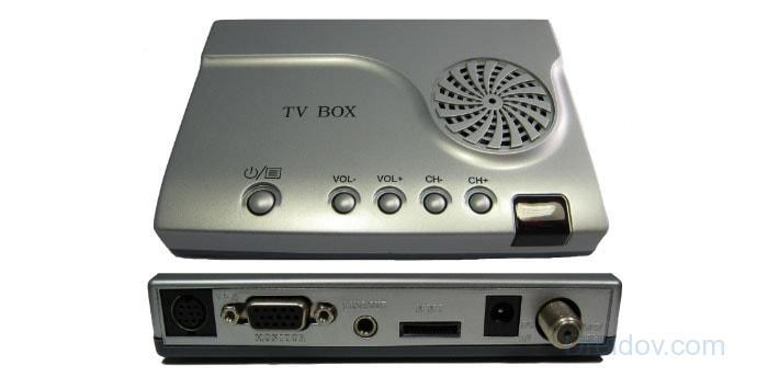 ТВ-тюнер с колонкой
