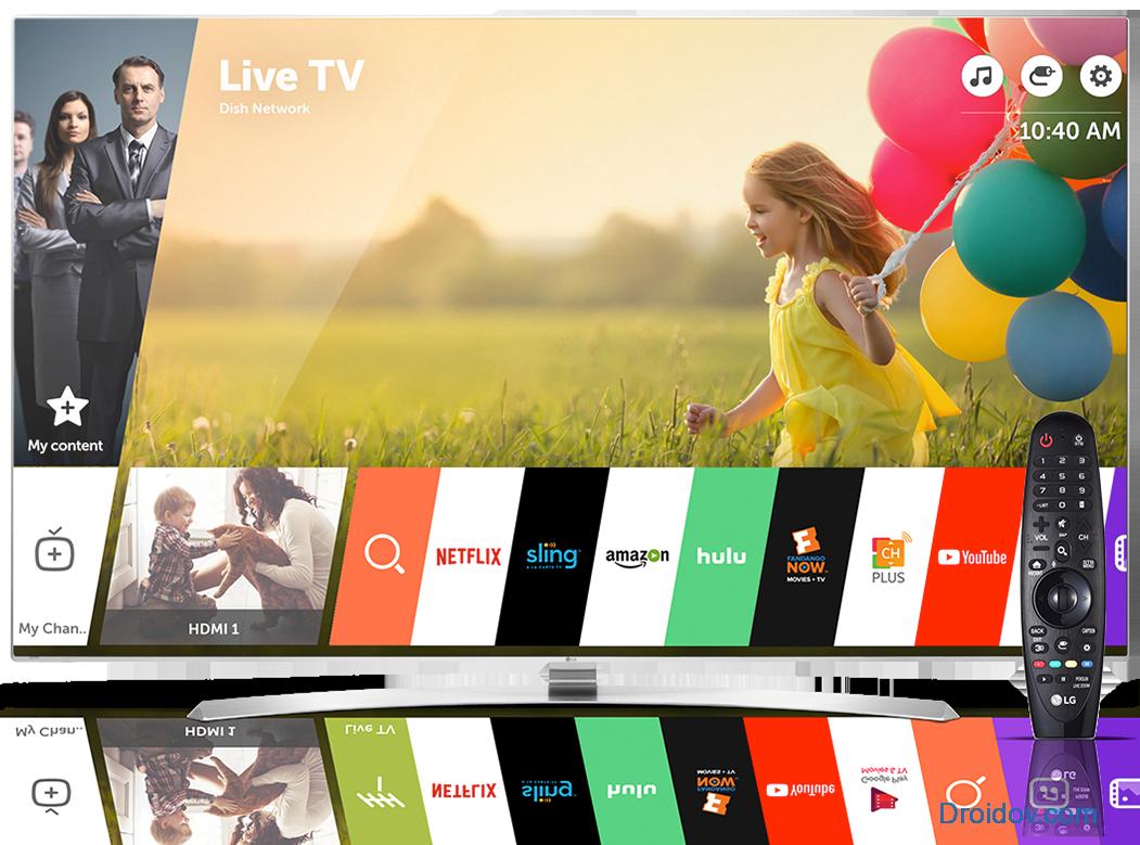 Интерфейс Смарт в телевизорах LG