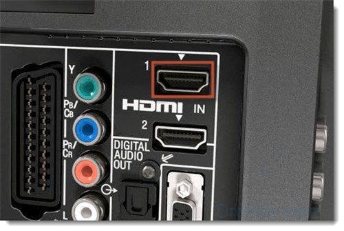Подключение в порт HDMI