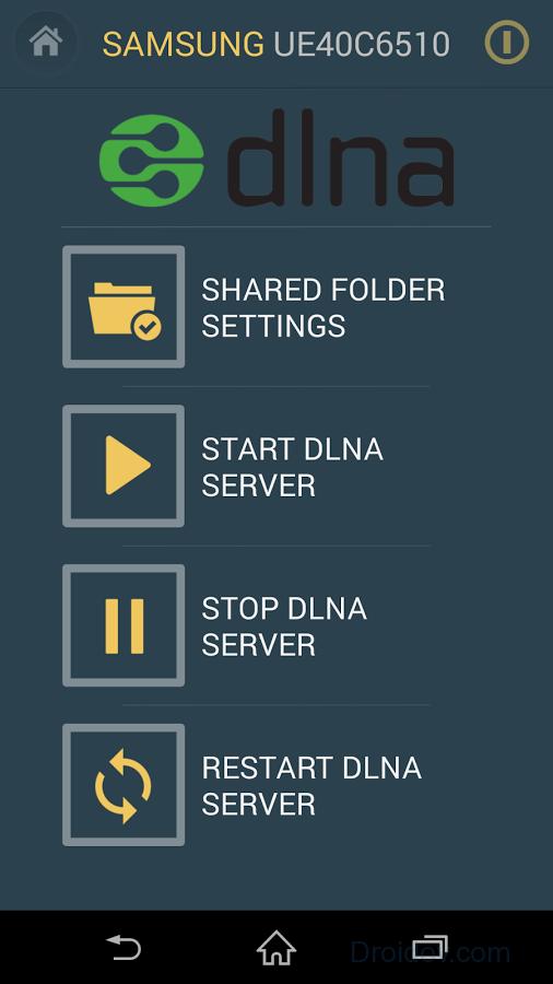 Настройка сервера DLNA