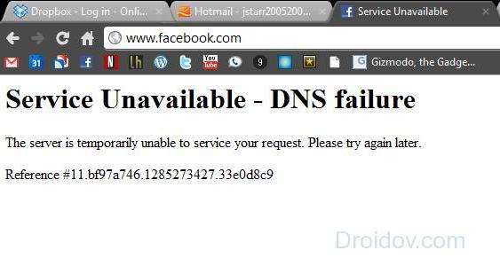 Сайт закрыт по ДНС