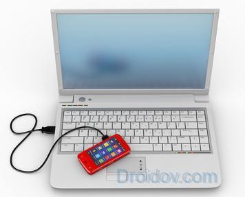 Подключаем телефон к компьютеру по USB