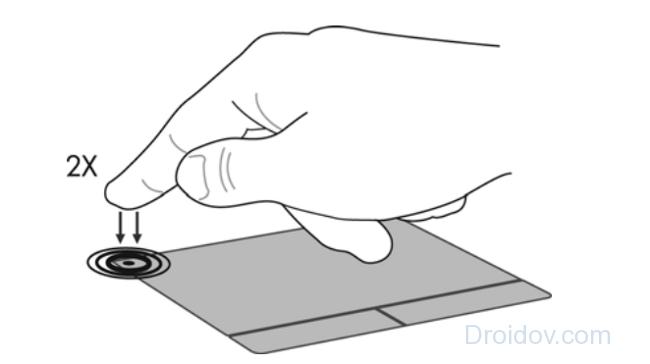Как включить тачпад кнопкой