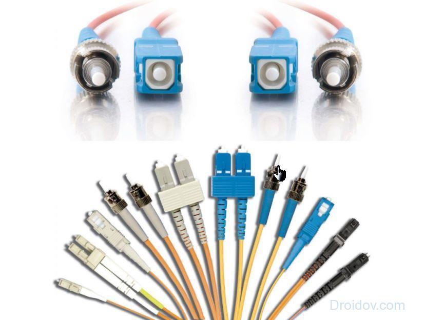 виды коннекторов patch cord