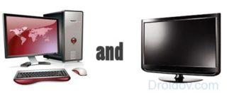 Способы подключения компьютера к телевизору
