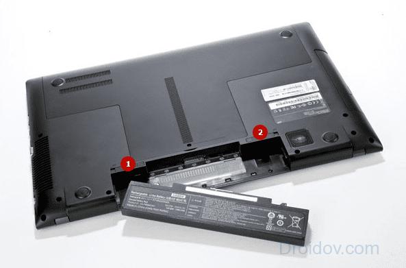 Батарея ноутбука подключена, но не заряжается (Решено)