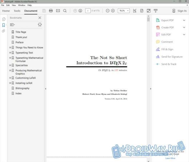 Как открыть pdf файл, программы для чтения pdf файлов