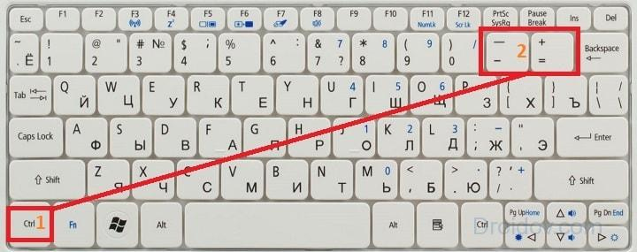 Как уменьшить масштаб экрана на компьютере: 4 простых способа
